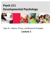 Lectures 1 - 4