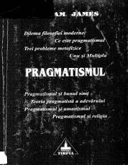William James-Pragmatismul-Timpul (2000)