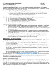 CT 4350 Organizational Policy Assignment.doc