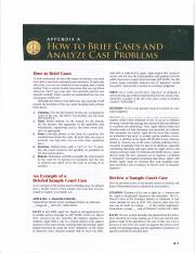 How to Brief Cases_Page 1
