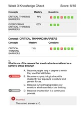 6 stages of critical thinking university of phoenix Hum 114 week 1 stages of critical thinking worksheet instructions complete the university of phoenix material: stages of critical thinking stage description.