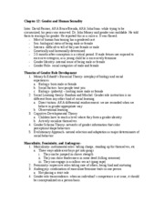 PSYC Chapter 12 Notes