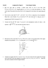 Ch.5 Assignment_Surface Integral