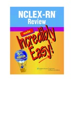 115-NCLEX-RN Review Made Incredibly Easy, Fifth Edition (Incredibly Easy Series)-Lippincott-16083.pd