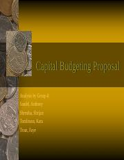Capital Budgeting Proposal.ppt