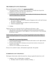 PHI 1700 Review Sheet_Euthanasia-Homosexuality-Abortion-Eugenics