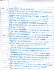 Chapter 3 Summary Notes
