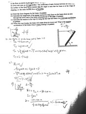 Calculating Force Problem & Solution