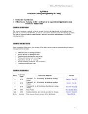 Syllabus_HTM 2514_Fall 2009