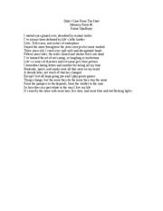 creative writing-memory poem 1