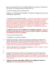 Exam 1 Study Guide