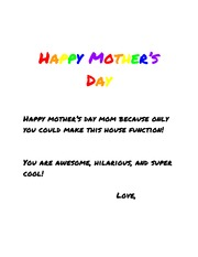 Mother's Day - Google Drive