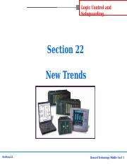 Section-22 New Trends.ppt