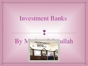 Investment Banks-3