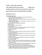 Study Guide 3