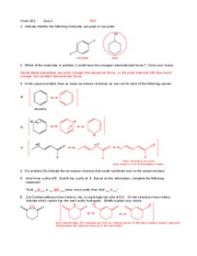 quiz 2 key - orgo