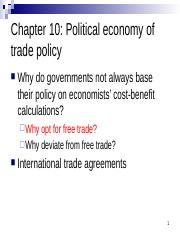 Chapter 10 Political economy of trade policy.pptx