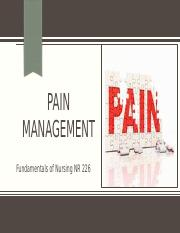 pain management.pptx