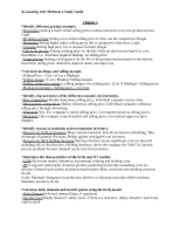 Principles of Accounting 1 Test 2 Study Guide