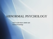GenPsy.Lec13.Abnormal