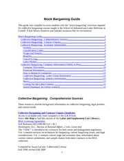 54-MockBargaining Guide