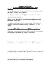 U.S. Chapter 9 Study Guide .docx