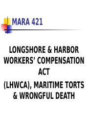 Maritime Torts & Wrongful Death.ppt