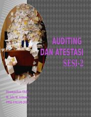 AUDITING DAN ATESTASI(sesi2)