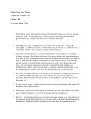 Maria Stavrinou-Reyes FIN520 Chapter 19 questions