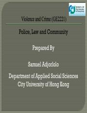 POLICE, LAW AND COMMUNITY.pdf