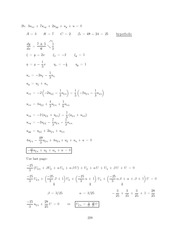 Differential Equations Lecture Work Solutions 228