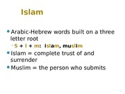 04 - 1710 Islam 1 Students (2).ppt