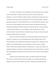 ethics and the environment write up 1 essay