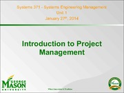 Syst371_S14_U1_IntroductionToProjectManagement