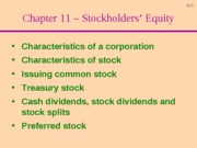 Ch11 - Equity