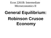 Econ 2261 Lecture Slides competitive equilibrium III