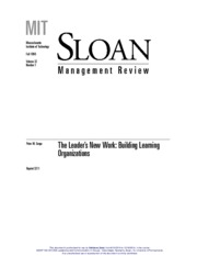 The_Leader_s_New_Work__Building_Learning_Organizations