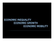 Inequality.Mobility 2.09.2011