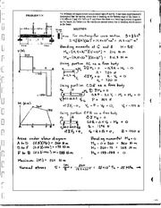 558_Mechanics Homework Mechanics of Materials Solution