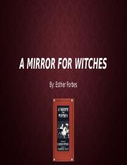 A Mirror For Witches