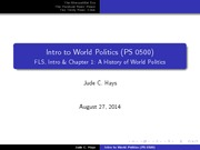 PS0500_LectureSlides1_A History of World Politics
