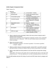 Chapter 5- 7 Assignment Sheets and Practice Quizzes