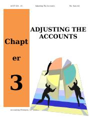 Adjusting the Accounts.docx
