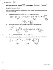 Solution Test 3 A page 1