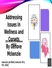 4-2 Narrated Slide- Addressing Issues in Wellness.pptx