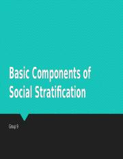 Basic Components of Social Stratification.pptx