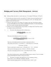Hedging problems - Answers.docx