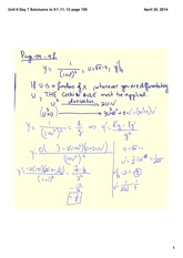 Solutions to 9 f, 11 and 12 page 159