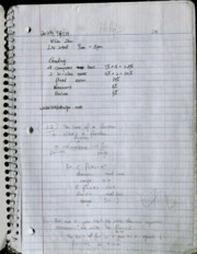 Calc 221 Lecture Notes 1