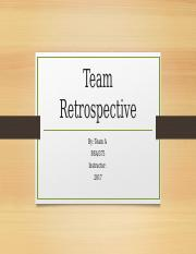 Week5_Team Retrospective